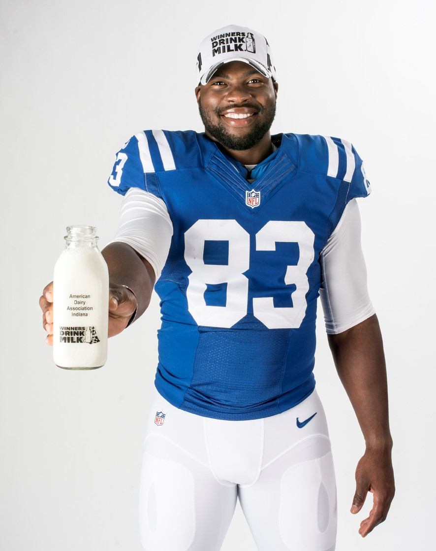 Colts' Allen joins Indiana Dairy's Fuel Up to Play 60 initiative ...