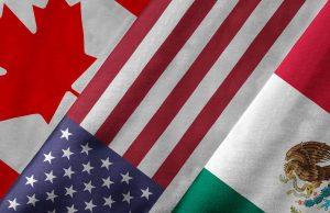USA, Canada, and Mexico