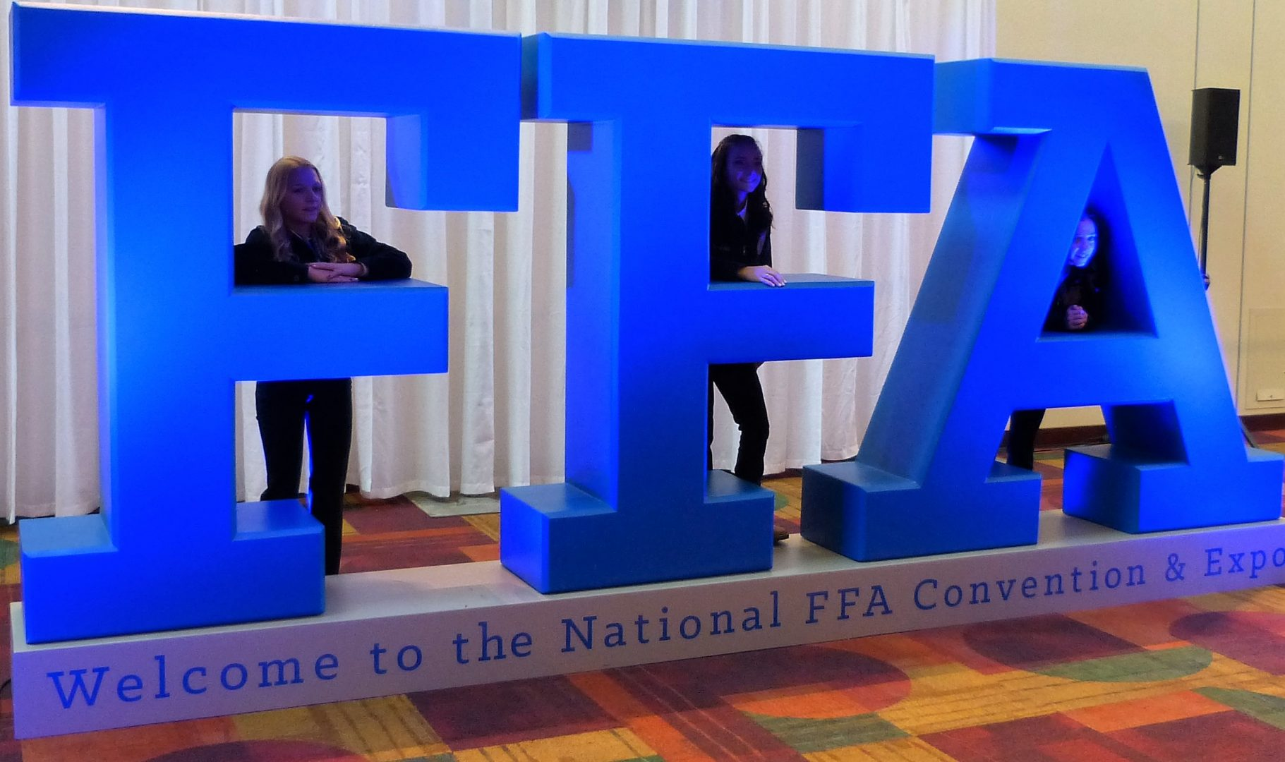 Blue FFA Jackets Back in Indianapolis for National FFA Convention